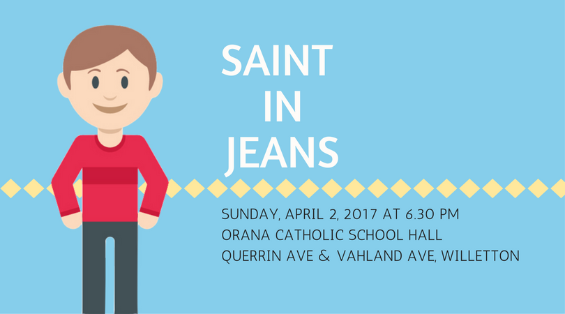 Saint in Jeans